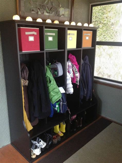 diy cubbies diy coat cubby obsessed with organization pinterest