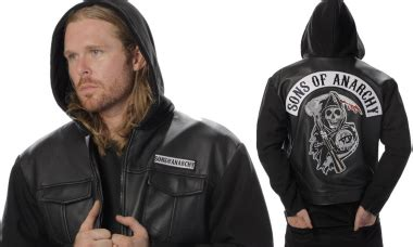 Crows Denim Jaket Leather Exclusive sons of anarchy archives entertainment earth news