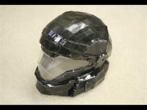 How To Make A Halo Helmet Out Of Paper - pepakura halo odst helmet