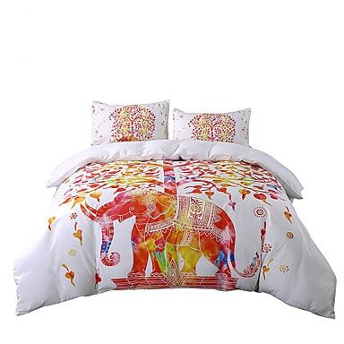 elephant bedding queen beddingoutlet elephant bedding set tree white and red