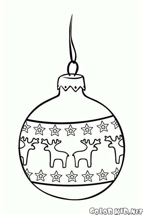 new year tree coloring page coloring page christmas toy ball