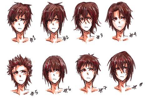 Anime hair style II by nyuhatter on DeviantArt