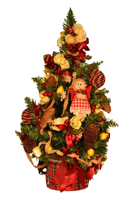 geschm 252 ckter weihnachtsbaum mit topf