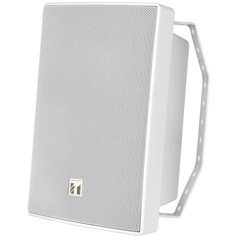Toa Box Speaker Zs 1030b 30 Watt toa bs 1030w 2 way paging speaker 70v 30w white
