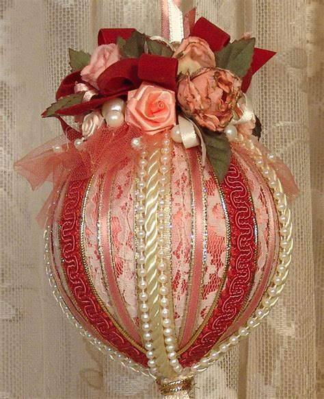 Handmade Ornaments To Make - handmade ornament keepsake vintage