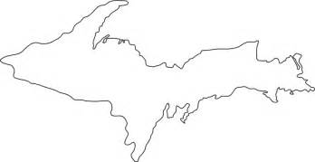 Printable Outline Of Michigan by Michigan Map Outline New Calendar Template Site