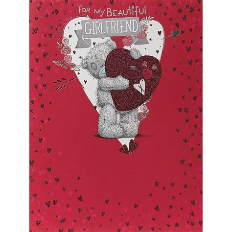 From Me To You Gift Card - valentines me to you bear cards ebay