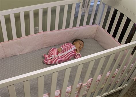 infant deaths from crib bumpers on the rise cbs news