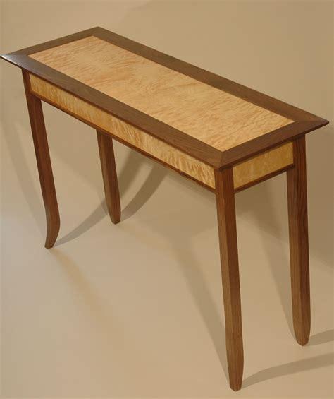 wood hall table plans   build  amazing diy
