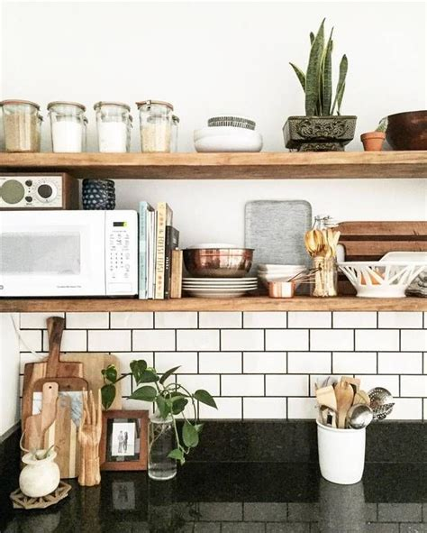 shelving ideas for kitchens 25 best ideas about kitchen shelves on pinterest open