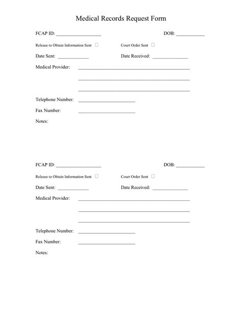 records request form template invitation template