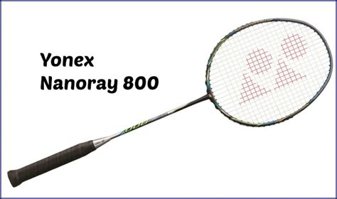 Raket Yonex Armortec 800 yonex nanoray 800 badminton racquet review