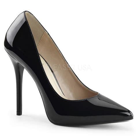 Heels Brukat Black 3 pleaser amuse 20 5 inch heel 3 8 inch platform