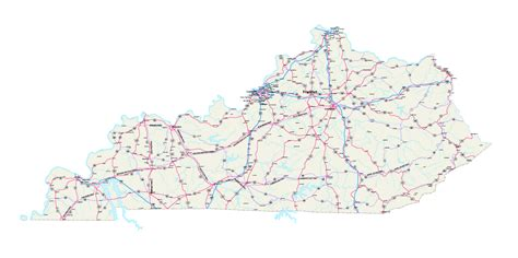kentucky map counties roads kentucky maps kentucky map kentucky state map