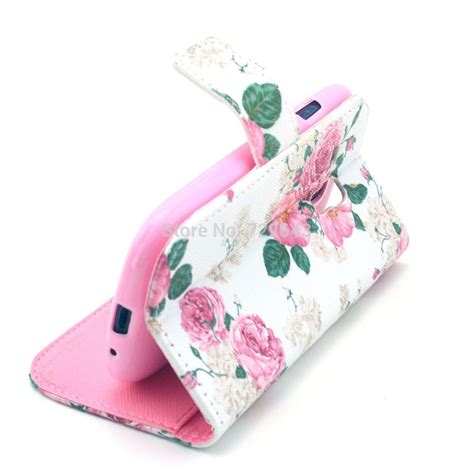 Burton Flower Pink Cover White 153 white pink flower floral magnetic flip pu leather cover for samsung galaxy s3 mini