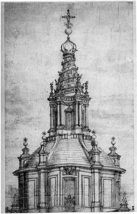 cupola sant ivo alla sapienza chiesa di sant ivo alla sapienza a roma vertiginoso