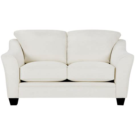 white fabric loveseat city furniture avery white fabric loveseat