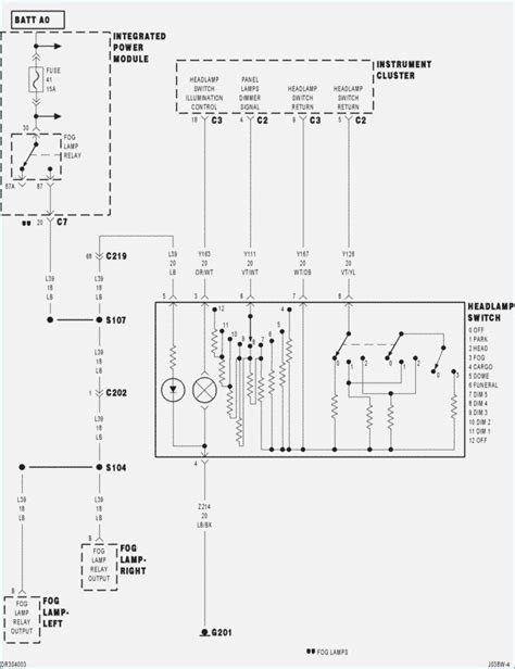 1998 dodge ram 1500 headl diagram wiring diagram