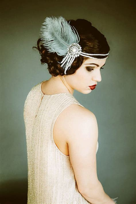 Gatsby Themed Hairpieces | the great gatsby wedding inspiration