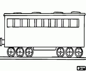 coal car coloring page juegos de trenes para colorear imprimir y pintar 2
