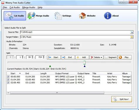 download mp3 cutter joiner 4 04 07 weeny free audio cutter 1 0 free download freewarefiles
