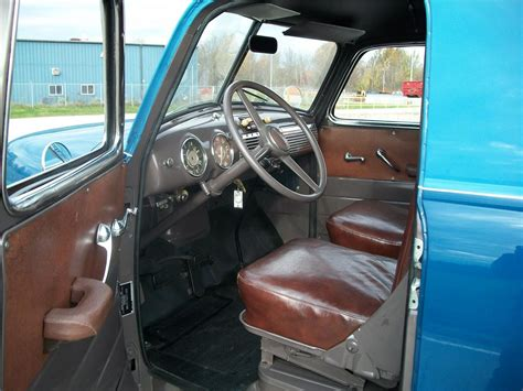 1949 Chevy Interior by 1949 Chevrolet 3100 Panel Truck 96187
