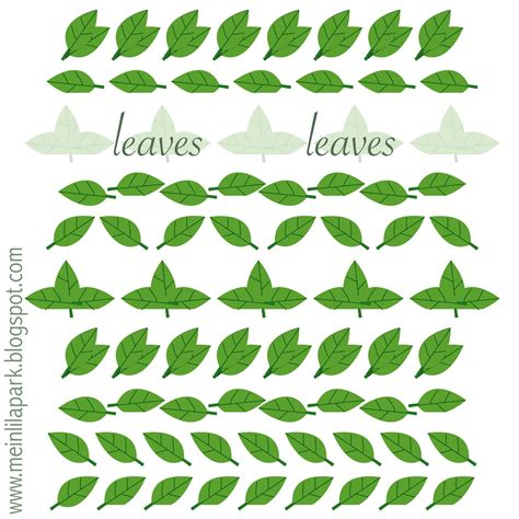Can I Still Use A Borders Gift Card - free printable leaves border sheet ausdruckbare schmuckborder freebie meinlilapark