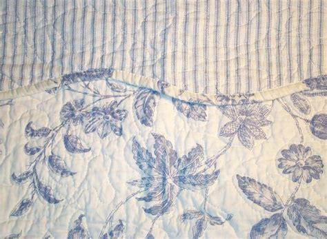 Toile Quilt Brighton Blue Toile Quilt By Williamsburg