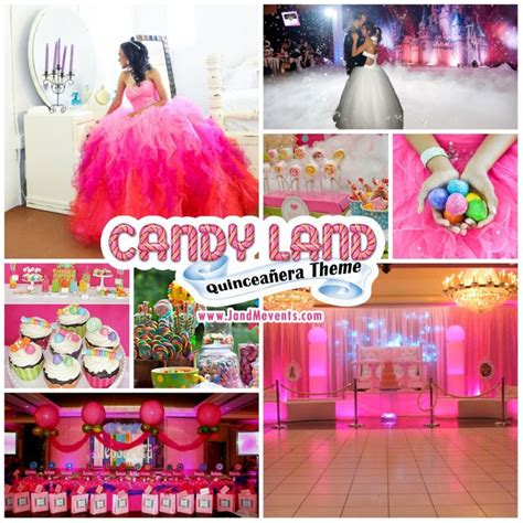 Cute Themes For Quinces | candyland quinceanera theme candy land quincea 241 era theme