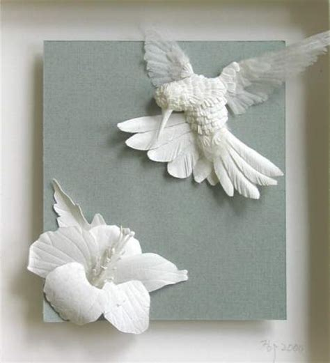 crafts with white paper 27 artistic and outstanding paper sculptures