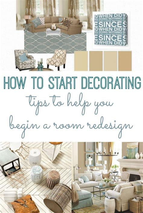 how to start decorating tips begin a room redesign home on coffee table decorating ideas how to