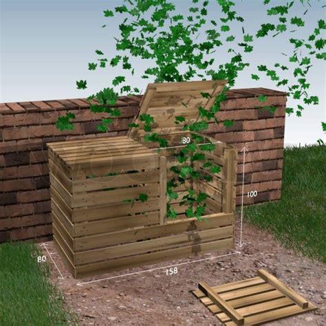 composteur de jardin les 25 meilleures id 233 es concernant fabriquer un composteur sur composteur bois