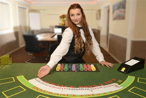 croupier dealer casino studio level award olca