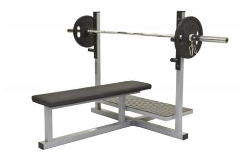 bench press flat with support olympic bench presses