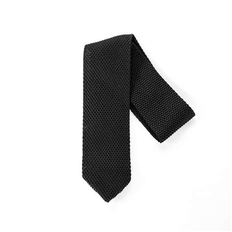 black silk knit tie black silk knit tie chanman touch of modern