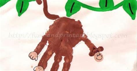 new year monkey handprint handprint ideas monkey and monkey