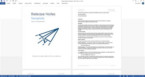 software release notes template 27 images of microsoft release notes template adornpixels