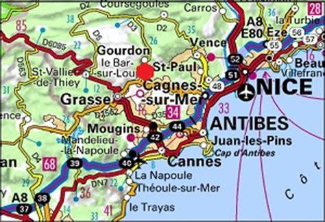 Location vacances Bar sur Loup 06620 à proximité de Grasse et de Gourdon (Alpes Maritimes)
