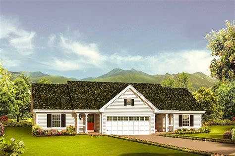 architectural home designs ranch duplex 57281ha architectural designs house plans
