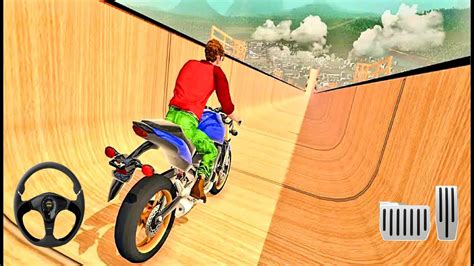mega rampa motosiklet imkansiz suerues android gameplay