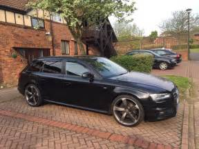 audi a4 avant black edition 3 0 tdi 2012 sline in