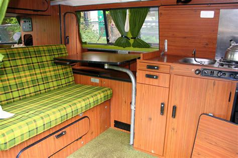 Camper Van Awnings Westfalia Berlin Table Whole Set With Swing Leg Nla Vw