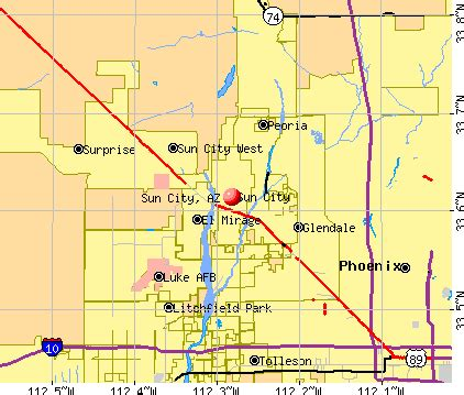 sun city, arizona (az 85374) profile: population, maps