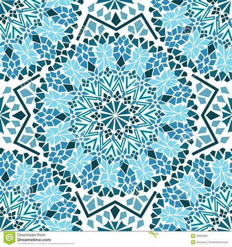 seamless moroccan pattern seamless pattern of moroccan mosaic stock image image