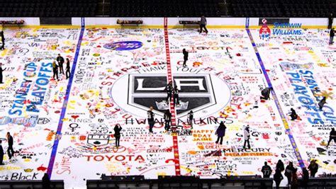 2016 la kings paint the ice event nhl com