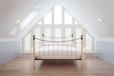 attic bedroom ideas  designs  skylights