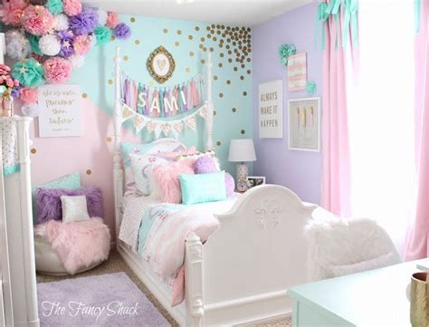 Unicorn Bedroom Decorating Ideas by Sami Says Ag The Fancy Shack Pastel Bedroom Room