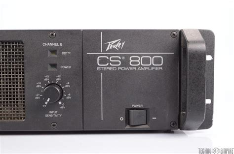 Power Lifier Peavey Cs 800 Peavey Cs 800 Stereo Power Lifier 400w 4 Ohms 24037