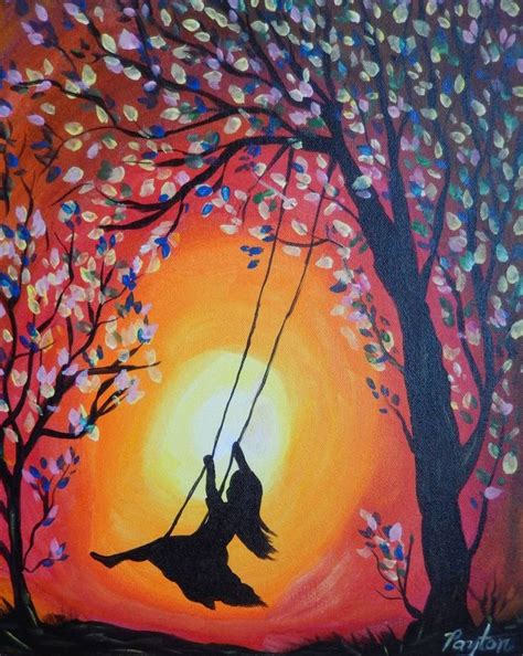 lady on swing painting 1000 ideas about swing tattoo on pinterest compass