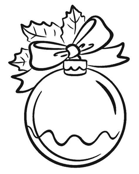 Free Coloring Pages Of An Ornament Ornaments Color Pages